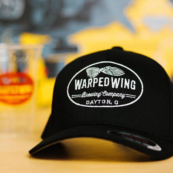 Baseball cap with Warped Wing logo